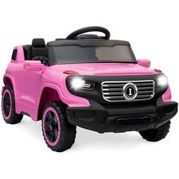 Electric Car For Kids Girls Ride on Car Truck 6V Remote 3 Sp