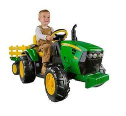 Electric Cars for Kids To Ride On John Deere Tractor Battery