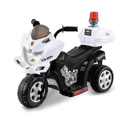 Electric Cars For Kids To Ride On Toys Police Riding Motorcy
