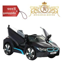 Battery Powered BMW i8 Fun Toddler Ride On Car Toy Black Ope