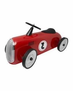 FAO Schwarz Ride-On Roadster Car for Kids, Red Or Display