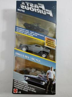 Mattel Fast & Furious Custom Mission 3 Pack Ripsaw, Downhill