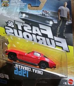 Fast and Furious Diecast Vehicle 1966 Chevy Corvette F8 30/3