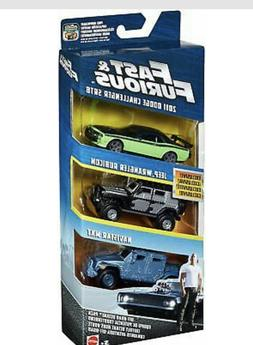 Fast and Furious Diecast Vehicle 3-Pack - Off-Road Octane Pa