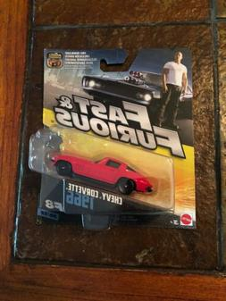 Fast and Furious F8 Chevy Corvette 1:55 Scale Furious Editio