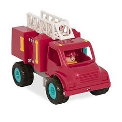 Battat Fire Engine Truck with Movable Parts and Driver – T