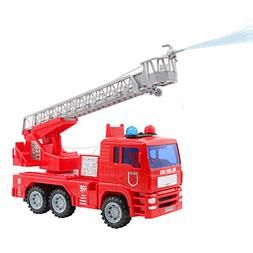 yoptote Fire Truck Rescue Ladder Toy Extending Rotating Ladd