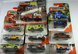 Matchbox Fire Trucks Police Rescue Real Working Rigs Pierce