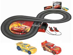 Carrera First Disney/Pixar Cars 3 -  Slot Car Race Track Set