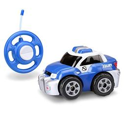 Kid Galaxy My First RC Police Car. Toddler Remote Control To