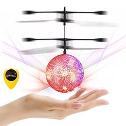 Flying Ball Toys-Slepwel Mini Infrared Induction RC Helicopt