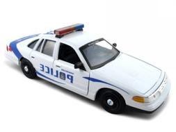 Ford Crown Victoria Vancouver Police Car 1:24 Diecast Model