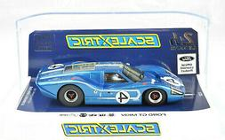 Scalextric Ford GT MKIV - 1967 Le Mans DPR W/ Lights 1/32 Sc