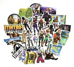 40 pcs Compatible Fortnite Stickers for Fortnite Gamers Fort