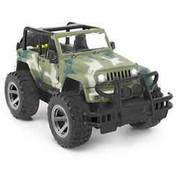 Friction Powered Off-Road Wrangler Vehicle 1:16 Realistic To