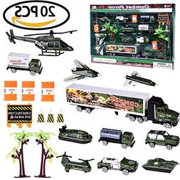 Fun Little Toys Army Military Soldiers Tank Vehicle Combat P