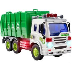 Garbage Truck Toys 3 Year Old Boys and Girls Friction Powere