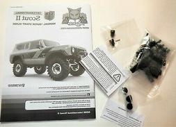 Redcat Racing GEN 8 Scout II 1/10 Manual with Spare Parts Pl