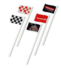 Carrera GO 1/43 Track Accessories - Flags - 10 pcs  by Carre
