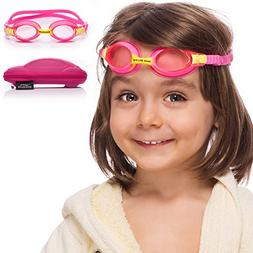 Kids Swim Goggles || Swimming Goggles for Kids  with Fun Car