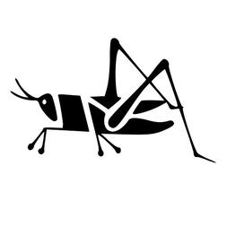 Grasshopper Decal for Car Window Wall Bumper Phone Laptop, C
