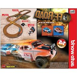 HO Slot Car Track - Auto World - OFFROAD - X-Traction Slot C