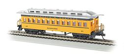 Bachmann Hobby Train Passenger Car, Prototypical Yellow