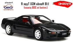 HONDA NSX TYPE R BLACK 1/18 MODEL CAR BY OTTO MOBILE FOR KYO