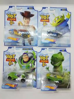 Hot Wheels Disney Character Cars Toy Story 4
