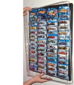 Mascar Pro Hotwheels Matchbox 1/64 scale Display case Black
