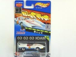 Hotwheels Speed Racer Mach 5 CW Two Tone White & Blue COLLEC