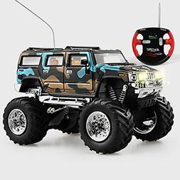 haomsj Hummer RC Radio Remote Control Car Off-Road Rock Vehi