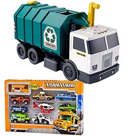 Bundle Includes 2 Items - Matchbox Garbage Large-scale Recyc