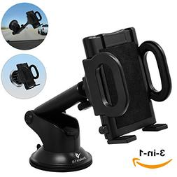 iProductsUS Phone Holder for Car, Universal Car Phone Mount,