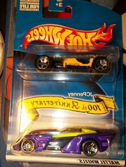 Hot Wheels JC Penny 100th Anniversary Special 2 pack Mint Bl