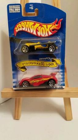 Hot Wheels JCPenney 100th Anniversary 2 Pack With Rare MS-T