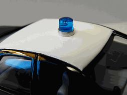 JD-11 1/43 Crowned Top Gumball Lights For Model Police Cars