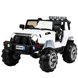 jeep wrangler ride car electric