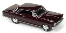 Johnny Lightning JLMC010A 1965 Chevrolet Nova SS Madeira Mar