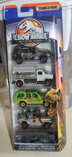 Matchbox Jurassic World Legacy Collection 5-Pack ~ Island Ex