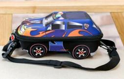 Kids Car Shaped Backpack 3D Race Cars Bags For Boys Children
