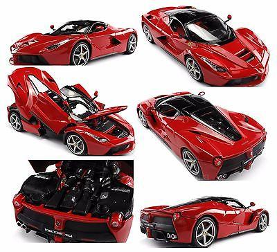 Bburago Series Diecast Red