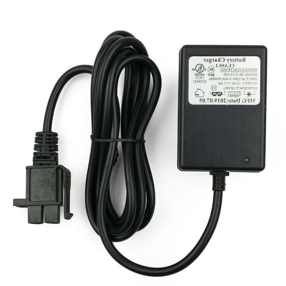 battery charger 12 volt for power wheels