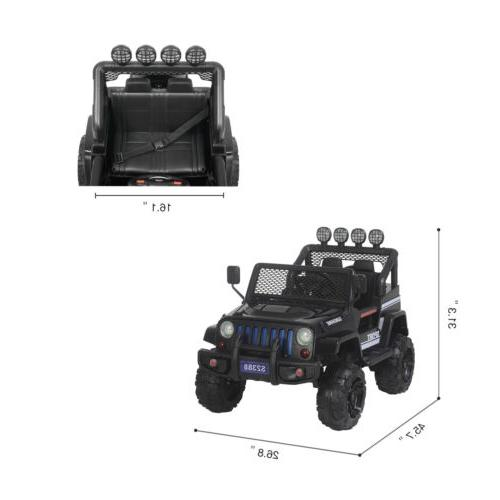 12V Kids Car Jeep Toys Electric Control