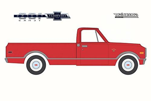 Greenlight 100th of ChevyTruck, Red 27940B/48 1/64 Model Toy Car