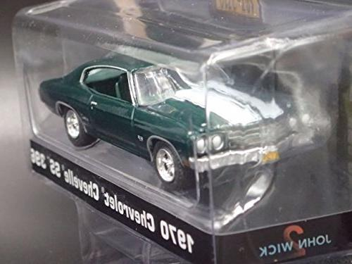 1970 Chevrolet 396 Wick Movie Chapter 18 Diecast Model Car Greenlight