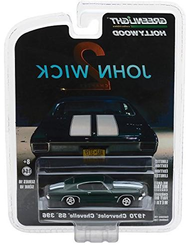 1970 396 John Wick Chapter 18 Diecast Model Car by Greenlight F