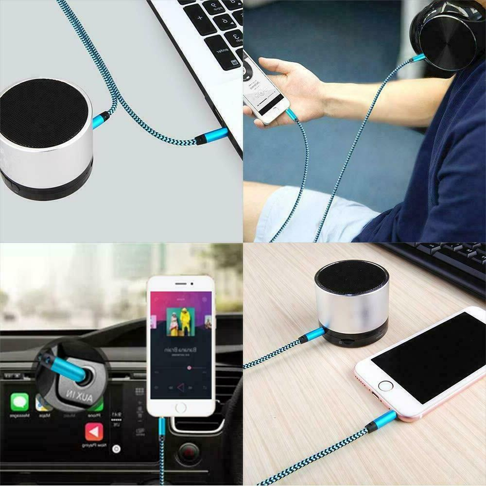3.5mm Stereo Audio Cable Auxiliary Cord iPod CAR