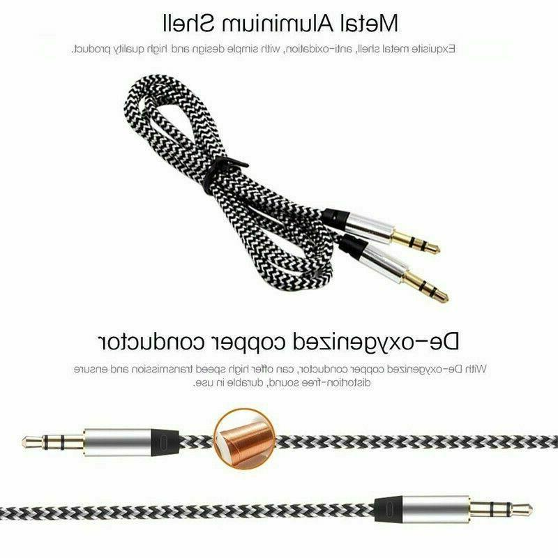 3.5mm Stereo AUX Cable Auxiliary