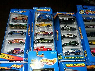 20 PACKS WHEELS DELIVERY FERRARI CAMARO+